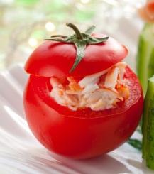 tomates rellenos de salpicon