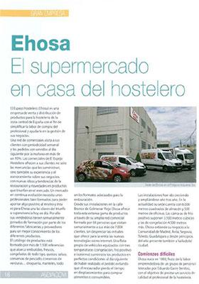 Notas de prensa ehosa productos para hosteleria for Espejo hostelero