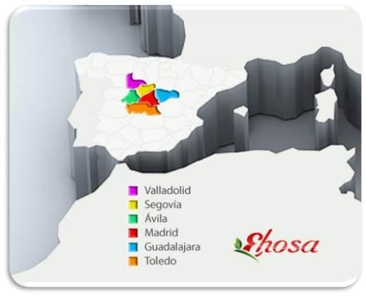 Zonas logisticas EHOSA