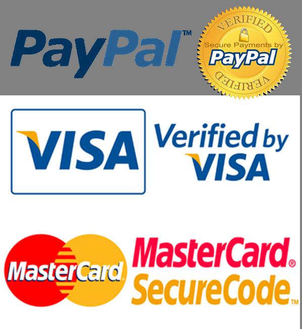 Logotipos y verificaciones de Pagos online