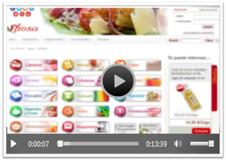 Video compra on line Ehosa
