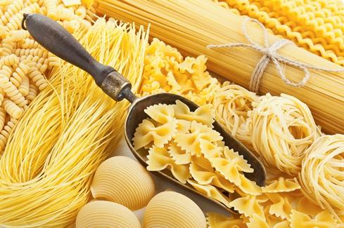 variedad de pasta