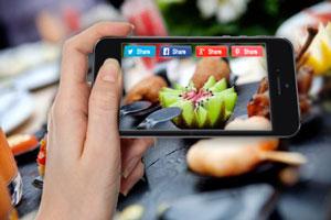 Compartir receta redes sociales