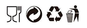 Resultado de imagen de simbología de los plásticos