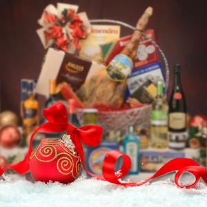 Cestas y lotes de NAvidad