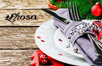 Productos para cenas y comidas de navidad