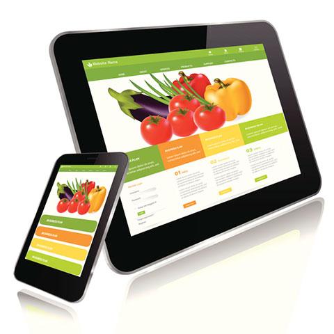 vender alimentos online