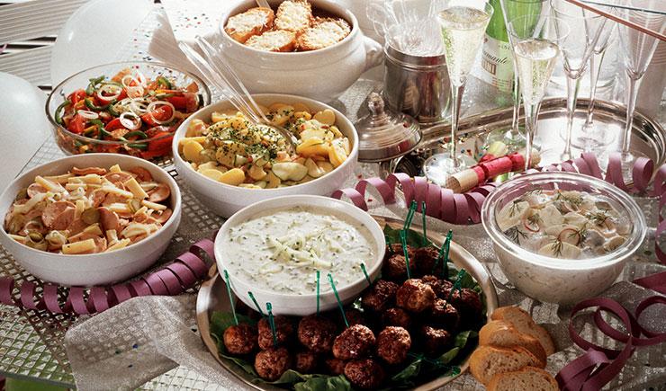 platos de año nuevo