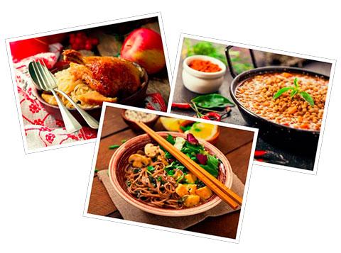 platos del mundo