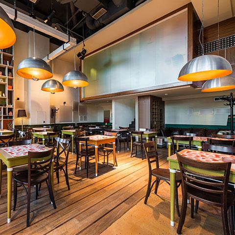 iluminacion en restaurantes