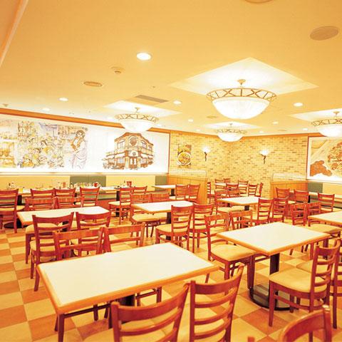 iluminación en restaurantes
