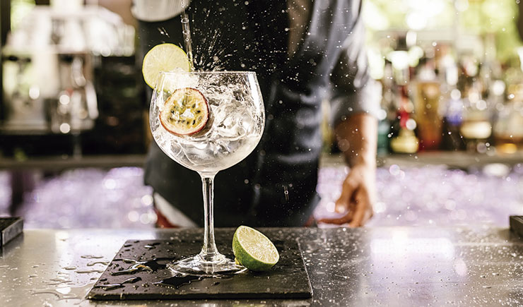 cocktails en restaurantes