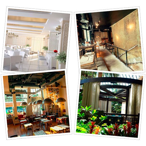5 estilos decorativos que triunfan en los restaurantes - Decoracion locales hosteleria ...