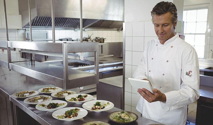 tecnología en los restaurantes