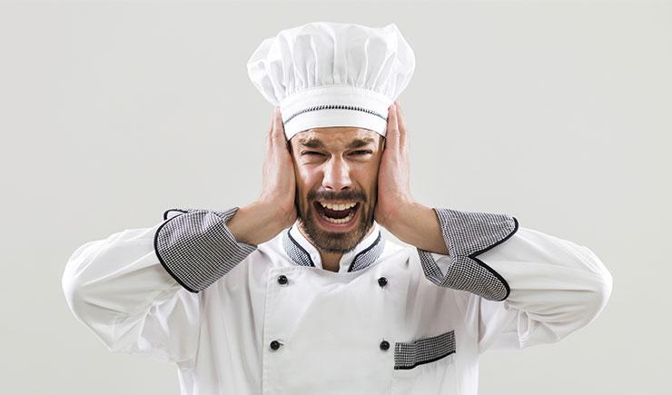 cocinero desesperado