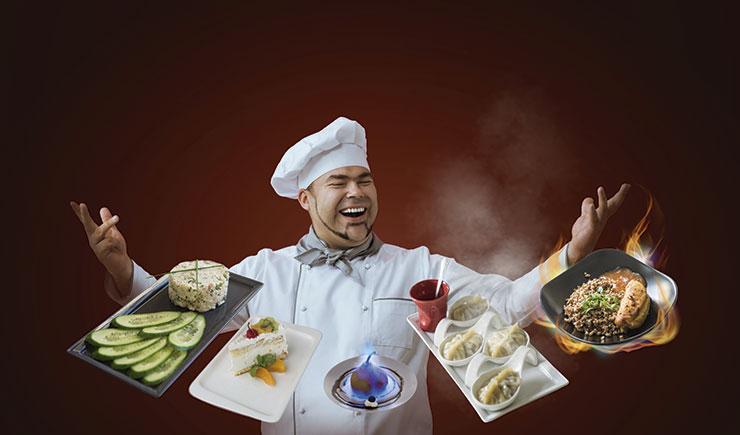 cocina en directo