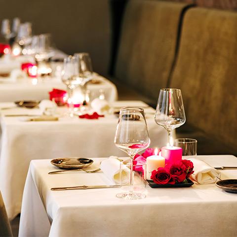 celebraciones en los restaurantes