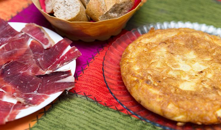 Los platos de comida típicos españoles
