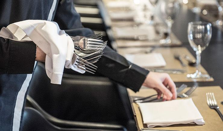 marcador de platos en hosteleria