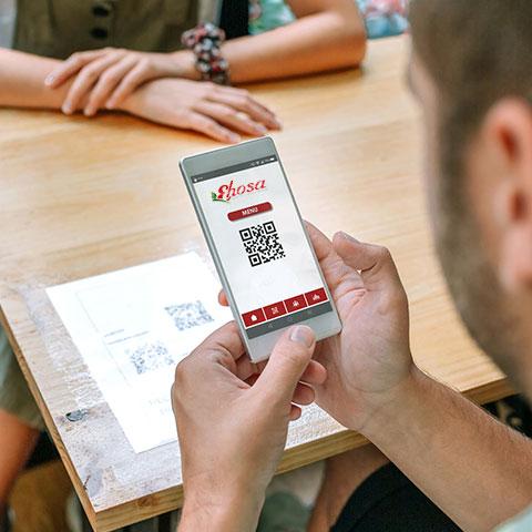 carta digital en hosteleria