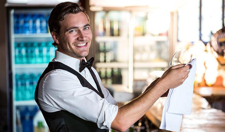 camareros en hostelería